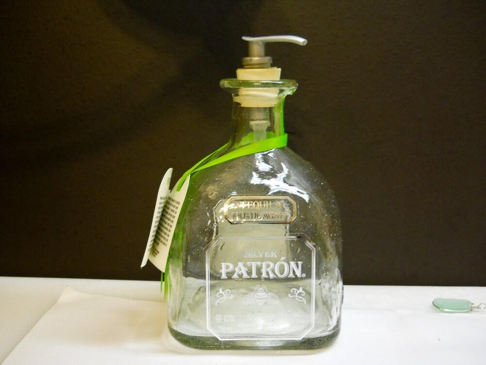 Patron Bottle Hand Soap Lotion Dispenser