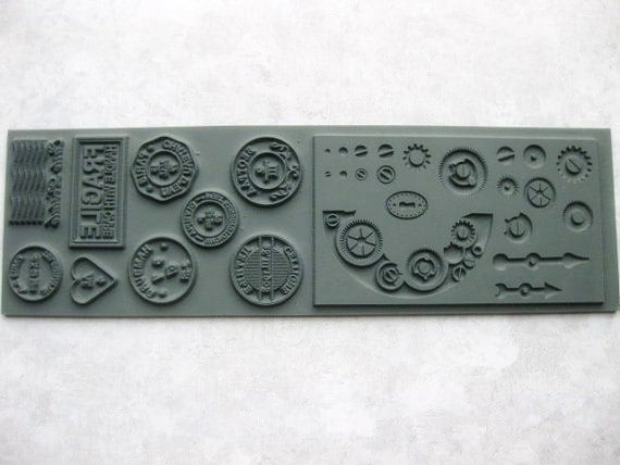 Polymer Clay Texture Stamp Lisa Pavelka , Connections