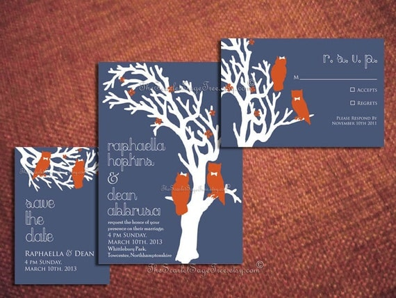 Diy Invitation Suite Design Pdf PRINTABLE GARDEN OWL Wedding Template Rustic Spring Summer Woodland Digital Modern Online Elegant New Cheap