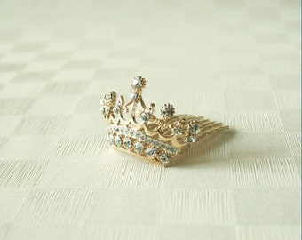 Mini Crown Tiara(Gold)