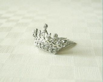 Mini Crown Tiara(Silver)