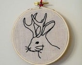 Circus Sideshow Gaff: The Jackalope. Ready To Ship.
