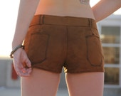 Revenge of the West Custom Sized Suede Short Shorts - Slowburn Fastburn