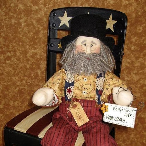 Uncle Sam Doll - Lincoln