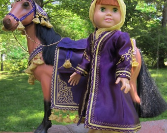 Arabian Costume Equestrian Sewing Pattern for 18 inch Dolls