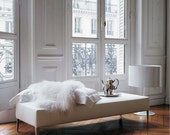 This is for YOU. Elegant sheepskin rug.100%NATURAL lambskin