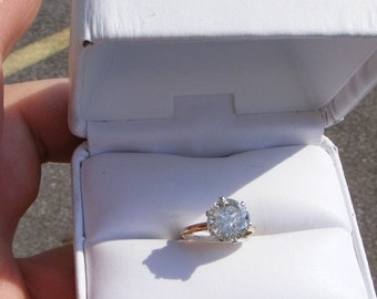 Diamond   Solitaire ring 1.0carat Solitaire  10kt Gold ring