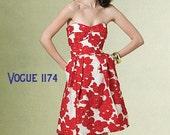 Custom Vintage 1950's  Inspired Dress V1174