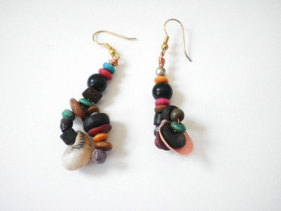Funky Hand Made Earrings ON SALE
