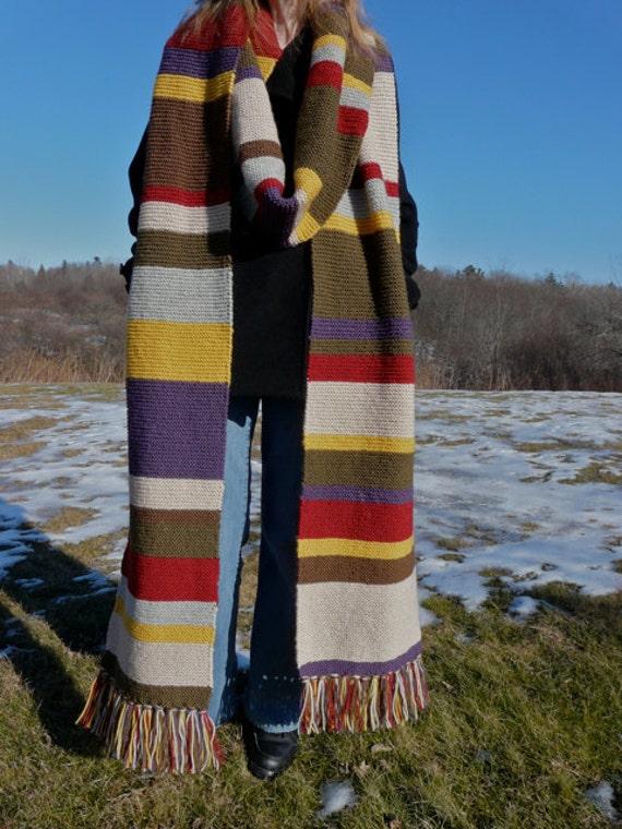 Season 15 Scarf - 100% Wool - Sale Price