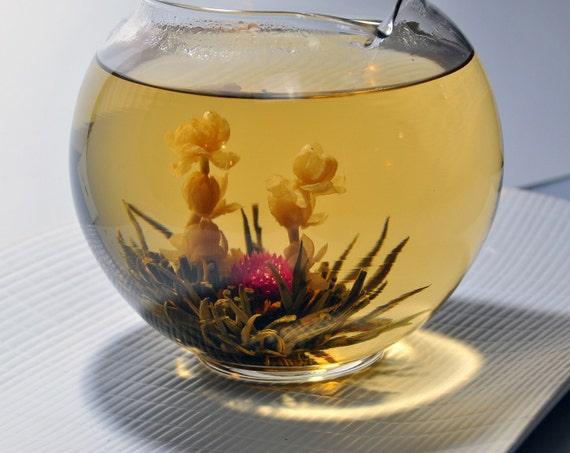 Blooming Green Tea - 5 assorted blooms