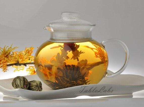 Blooming Green Tea - 10 assorted blooms