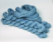 Hand Dyed Yarn Alpaca Lace Weight 875 yards Naturally Dyed in 'Whisper'