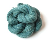 Hand Dyed Alpaca Lace Weight Yarn Naturally Dyed in Tranquility