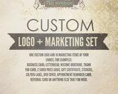 Professional Custom Logo, Watermark and Marketing Set