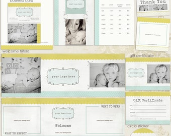 Nicole Premade Photography Marketing Set Templates