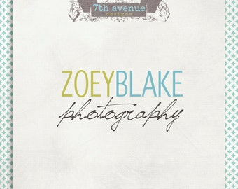 Custom Premade Logo Design - OOAK - zoey blake