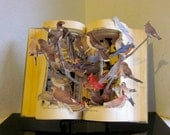 """Altered Book Autopsy """"Birds of A Feather"""""""