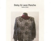 """Pattern for """"Daisy & Lace"""" Poncho"""