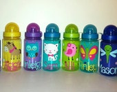 Personalized Water Bottle, Kids Water Bottle, Party Favor
