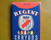unused pack of vintage crayons