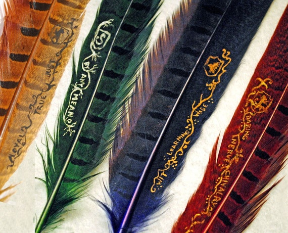 EXPEDITED: Hogwarts House Quill