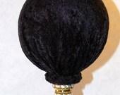 Black Velvet Hat Stand