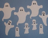 Ghost Choir Die Cuts 12 Spooky Ghosts for Scrapbooking and Paper Crafts