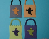 4 Treat Bag Die Cuts for Scrapbooking and Paper Crafts Halloween Candy Bags Embellishment