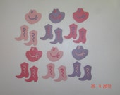 Cowgirl Die Cuts for Scrapbooking Cards and Paper Crafts