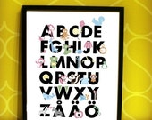 ABC Poster Personalized for your child (Swedish)