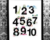 Numbers 12345678910's Poster