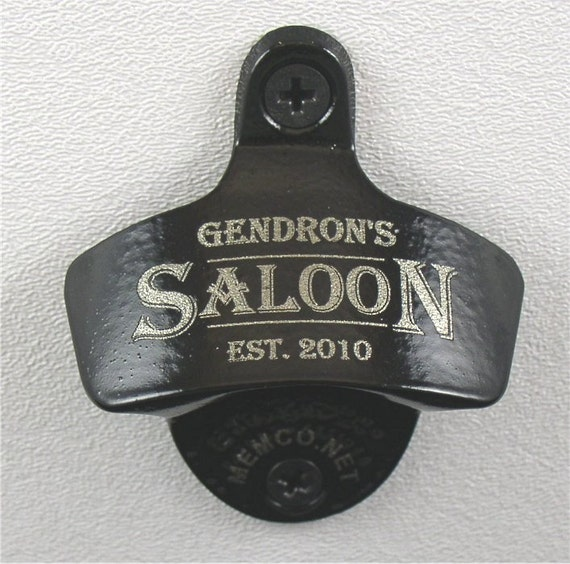 Bottle Opener & Capcatcher Personalized with your Name, Logo or Design