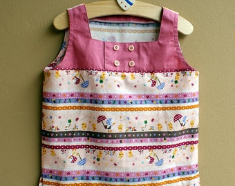 NEW - PDF Pattern - Frankie Top for 12M - 5T and tutorial.