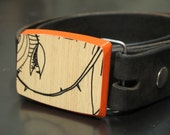 CLEARANCE ---Bamboo Audrey - Recycled Snowboard buckle