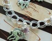 Custom Horsey Charm Bracelet - Your Choice of Colors