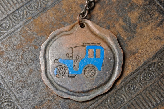 Vintage brass plate, finding, pendant, charm