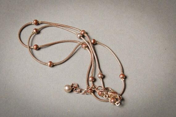 Vintage  silver tone chain