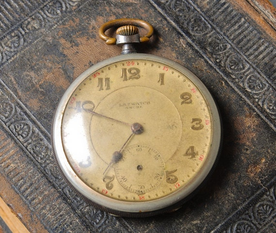 Antique  pocket  watch for movement, watch parts, watch case, Swiss made watch Ancre Latwatch