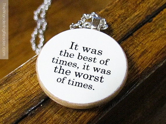 """Items Similar To Charles Dickens """"It Was The Best Of Times"""