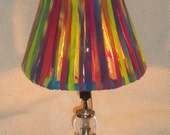 Mini tie-dye lampshade