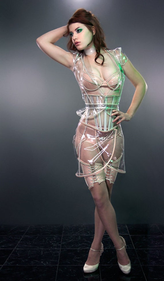 Nude PVC basic underwear S from Artifice Clothing (production sample, ready to ship)