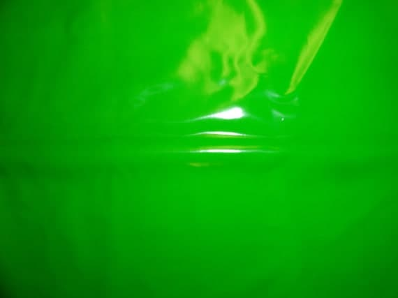 Shiny 4-way Kermit the Frog Green PVC (Artifice Clothing overstock)