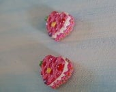 cake treat earrings
