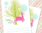 Happy New Year - Printable Notepad PDF Template