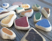 Authentic Beach Pottery: Old Colors Collection