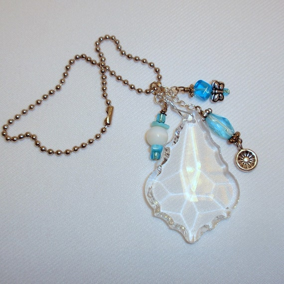 Car Charm - Crystal Baroque with Blues