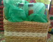 Sadistic Mistress Sauces custom hot sauce sampler pack  6 bottles 10oz each in a decorative basket