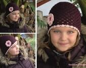 Crocheted Cap for girls