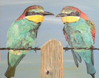 On The Wire, Bee-eaters.